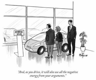 Negative energy vehicle