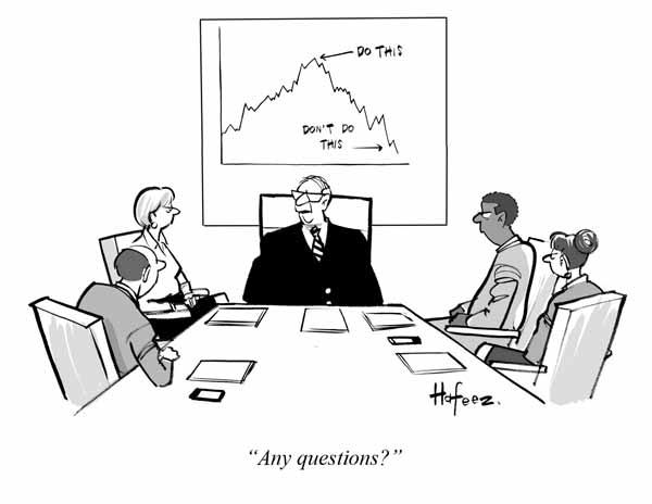 Art Line Questions : Quot any questions barron s cartoon