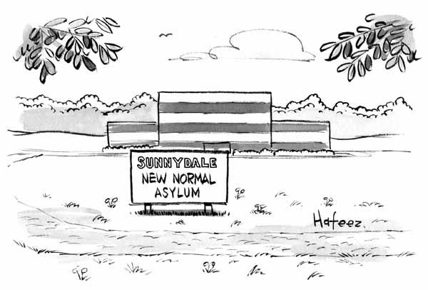 Sunnydale New Normal Asylum Barron S Cartoon
